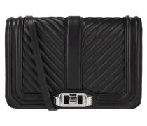 Crossbody Bag aus Leder mit Kettendetails