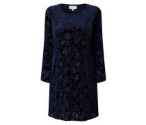 Kleid aus Samt mit Ausbrenner-Effekt