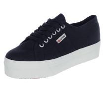 Sneaker '2750' aus Canvas mit Plateausohle