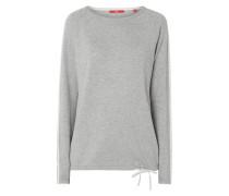Pullover mit regulierbarem Saum