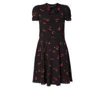 Kleid mit Kirschmuster
