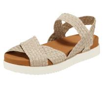 Sandalen aus geflochtenem Material