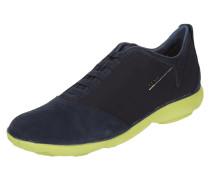 Slip-On Sneaker mit Leder - atmungsaktiv
