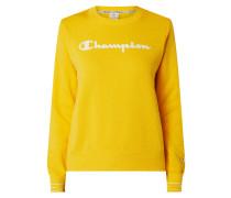 Regular Fit Sweatshirt mit Logo-Print