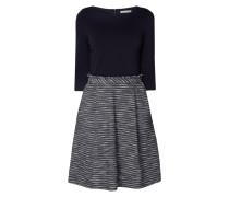 Kleid mit Rockteil aus Bouclé