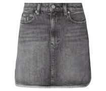 5-Pocket-Jeansrock aus Coloured Denim