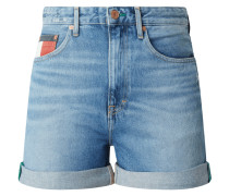 High Rise Mom Fit Jeansshorts - recycled Denim