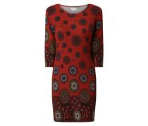 Kleid mit Mandala-Prints