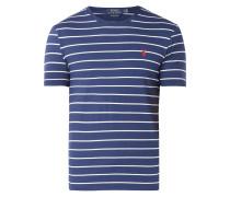 Custom Slim Fit T-Shirt mit Streifenmuster