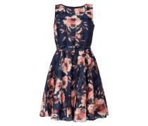 Kleid aus Taft und Organza