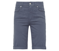 Coloured Regular Fit Jeansbermudas