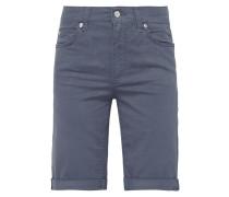 Coloured Regular Fit Jeansbermudas