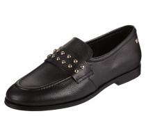 Loafer aus Leder mit Nieten