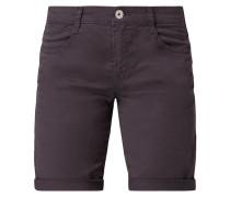 Shorts aus Baumwoll-Elasthan-Mix