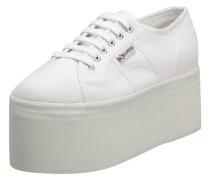 Sneaker '2802' aus Canvas mit Plateausohle