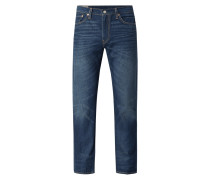 Regular Tapered Fit Jeans mit Stretch-Anteil