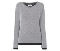 Sweatshirt mit Wabenstruktur