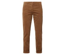 Relaxed Fit Cordhose mit Stretch-Anteil