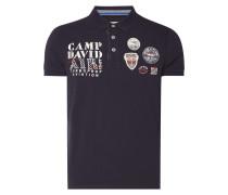 Poloshirt mit Logo-Details