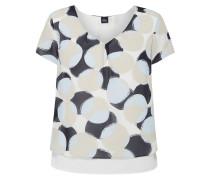 Blusenshirt mit Saum im Double-Layer-Look
