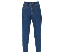 One Washed High Rise Jeans