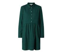 Kleid aus Organic Cotton mit Karomuster