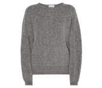 Oversized Pullover aus Alpakamischung