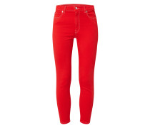 Cropped Super Skinny Fit Jeans mit Stretch-Anteil Modell 'Charlie'