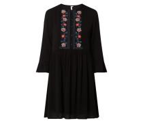 Kleid mit floralen Stickereien Modell 'Athena'
