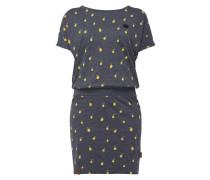 Kleid 'ALREADY BROKEN' mit Zitronenmuster