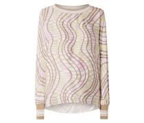 Blusenshirt mit Allover-Muster Modell 'Oana'