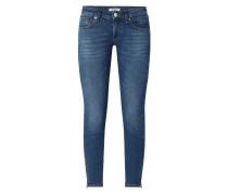 Low Rise Skinny Fit Jeans mit Stretch-Anteil Modell 'Scarlett'