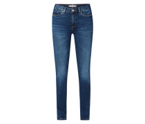 Jegging Fit Jeans mit Label-Patch