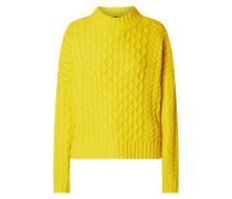 Oversized Pullover aus Schurwolle