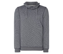 Sweatshirt mit Tube Collar