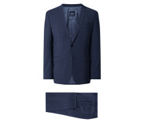 Slim Fit Anzug mit Stretch-Anteil