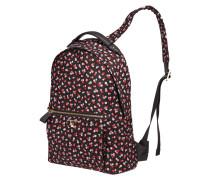 Rucksack mit floralem Muster