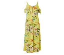PLUS SIZE - Cold Shoulder Kleid aus Viskose
