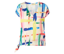 Blusenshirt aus Satin Modell 'Veda'