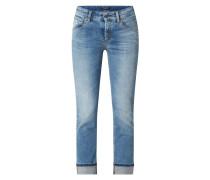 Slim Fit Jeans mit Stretch-Anteil Modell 'Pina'