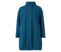PLUS SIZE - Mantel aus Teddyfell