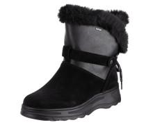 Boots 'Hosmos' aus Veloursleder mit Webpelzfutter