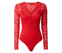 Body mit floralem Muster