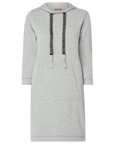 Kleid mit Kapuze und Känguru-Tasche