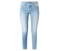 Slim Fit Jeans mit Stretch-Anteil Modell 'Kimberly'
