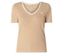 T-Shirt mit Streifenmuster Modell 'Kenia'
