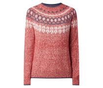 Pullover mit Norweger-Dessin