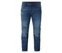 Stone Washed 3D Straight Fit Jeans - sustainable