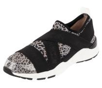 Slip-On Sneaker mit Leopardenmuster