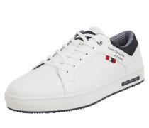 Sneaker in Leder-Optik